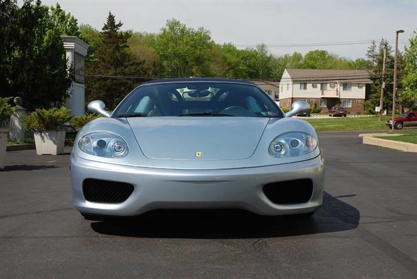 2001 Ferrari 360 Spider 2dr Convertible $84,900