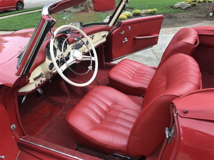 1957 Mercedes Benz 190SL Roadster $112,000