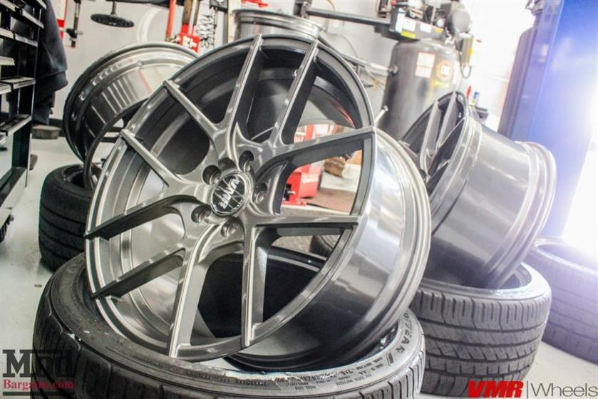 B8.5 AUDI A4 QUATTRO + VMR V803 WHEELS @ MODAUT0