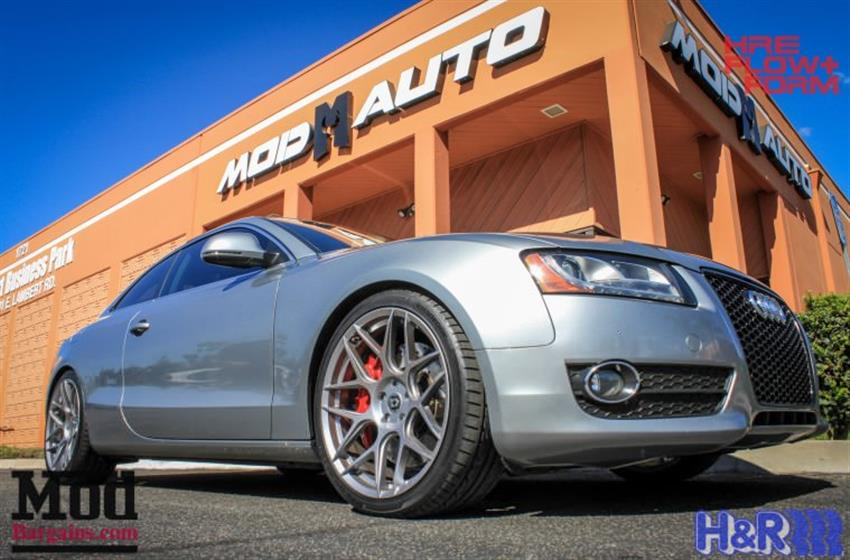 B8 AUDI A5 AWE Exhaust+AP Racing Brakes+HRE Wheels