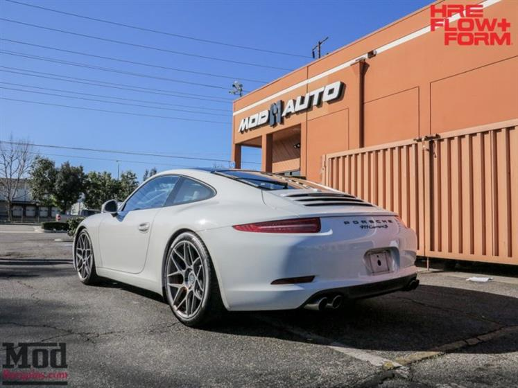 991 PORSCHE 911 CARRERA S ON HRE FF01 WHEELS