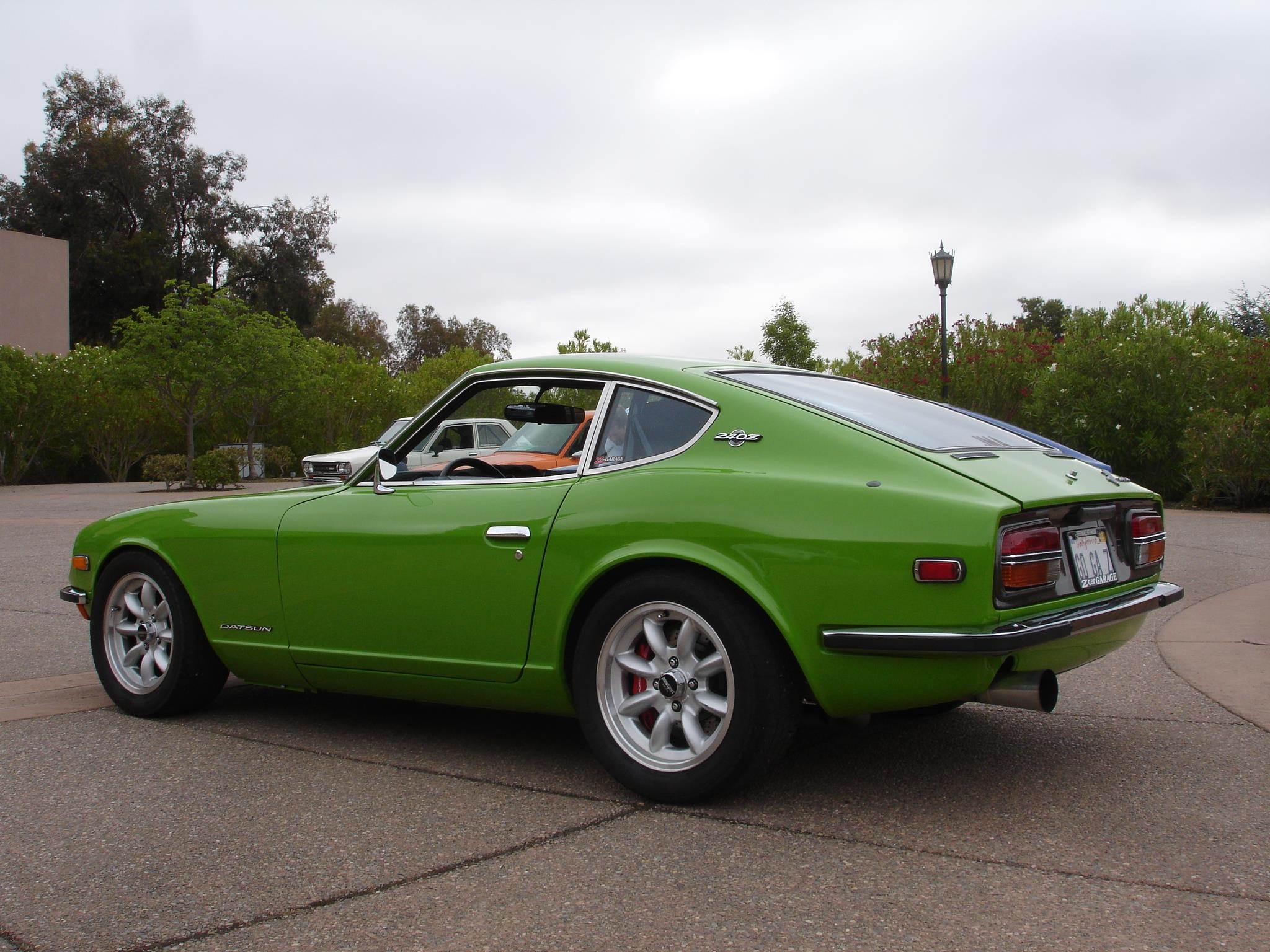 """1970 Datsun 240Z -  Panasport wheels, Full 3"""" mandrel bent exhaust:,  William's Paint and Autobody in San Mateo, CA:, Full chroming services:, Big brake kits:, Custom Suspension for track and autocross:"""