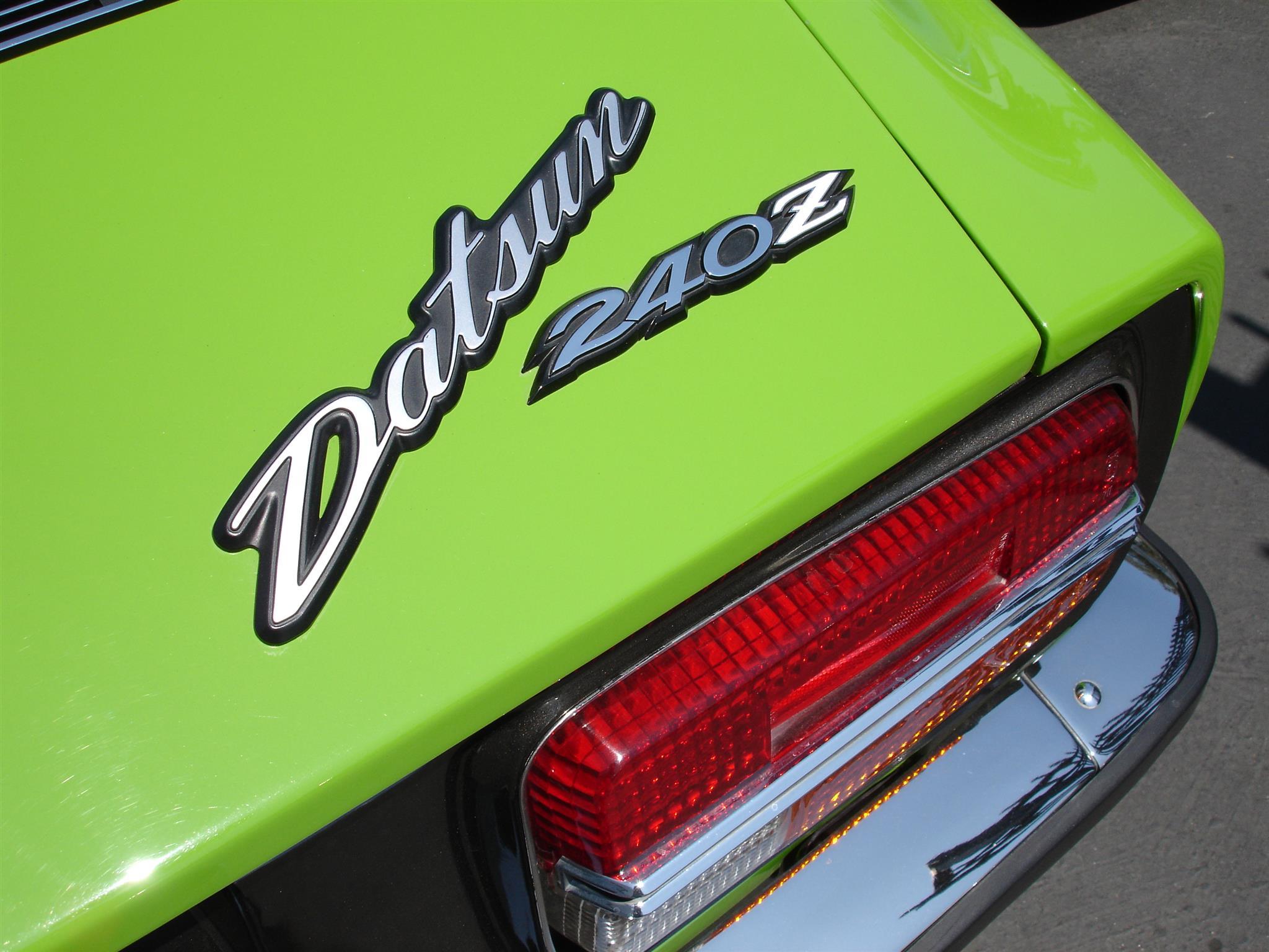 1970 Datsun 240Z -  Full chroming services