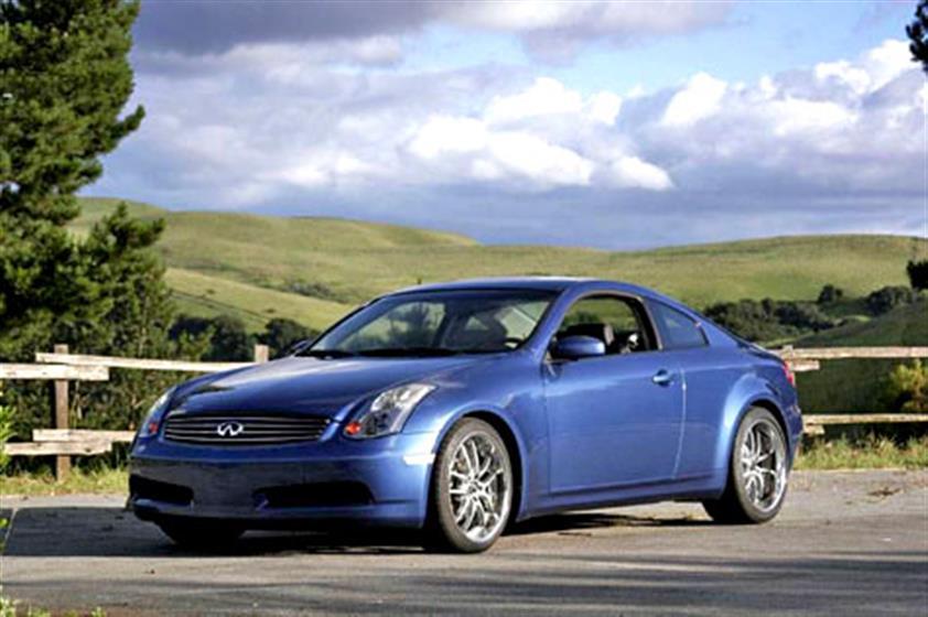 2005 Athens Blue G35 Twin Turbo Coupe,Infiniti