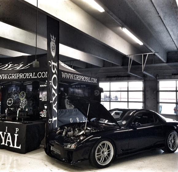 modified 1994 Mazda RX 7