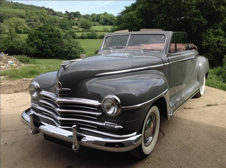 '46 Plymouth Convertible