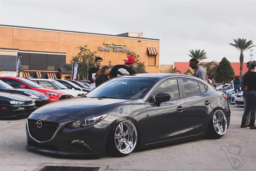 2015 Mazda 3 sedan Dark Gray