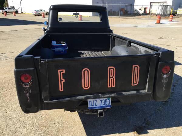 1958 Ford F-250 Truck Rat Rod $8,900