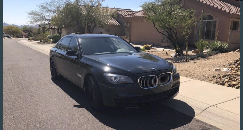 2012 BMW 7 Series 750Li RWD