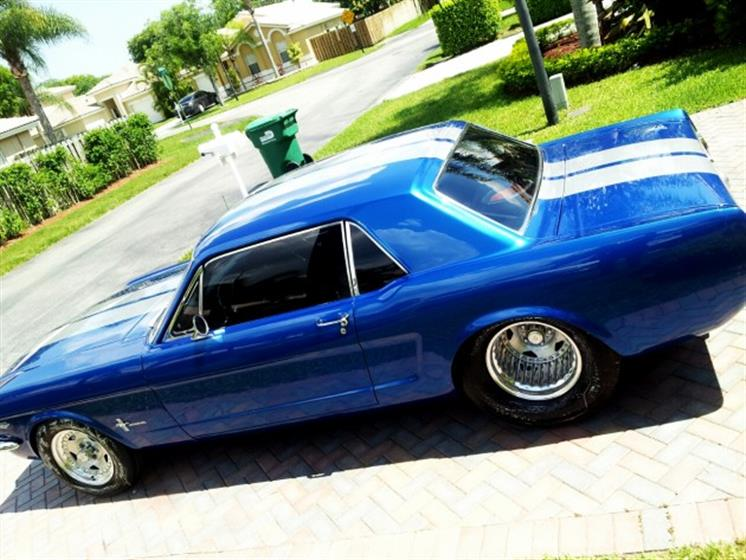 1966 Custom Mustang Coupe Pro Street Car $46,000