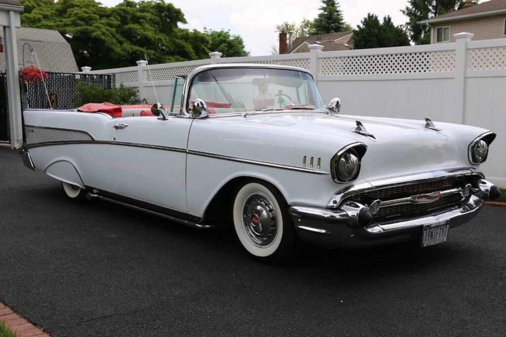 1957 Chevrolet Bel Air Convertible $69,995