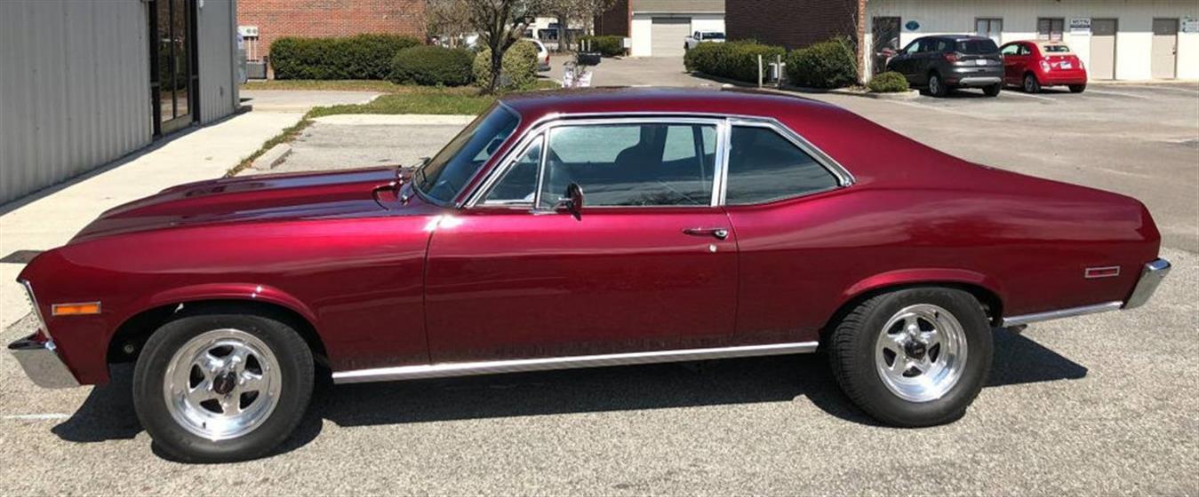 1972 Chevrolet Nova $29,995