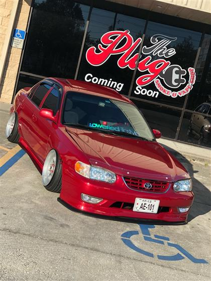 1993 Toyota Corolla With 2001 Front End Conversion