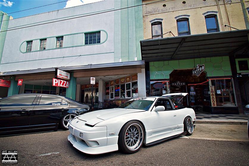 1991 Nissan 240sx S13 Fastback