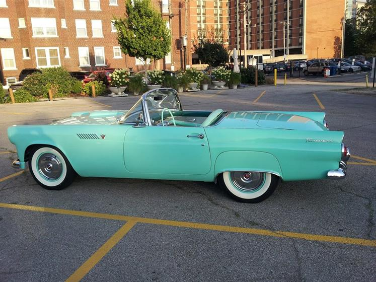 1955 Ford Thunderbird Convertible (MO) - $52,500 n
