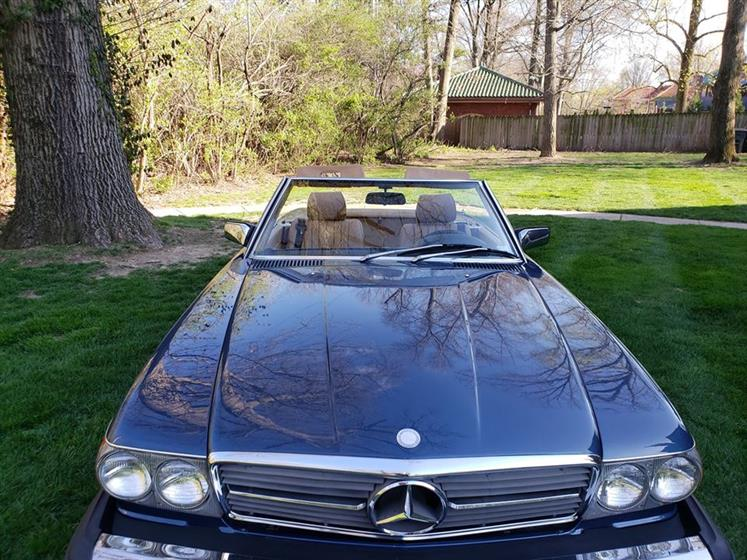 1983 Mercedes Benz 380 SL  (MO) - $21,900