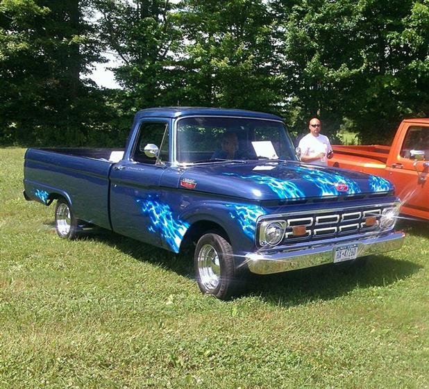 1963 Ford F-100 pick-up truck $29,900 or TRADE