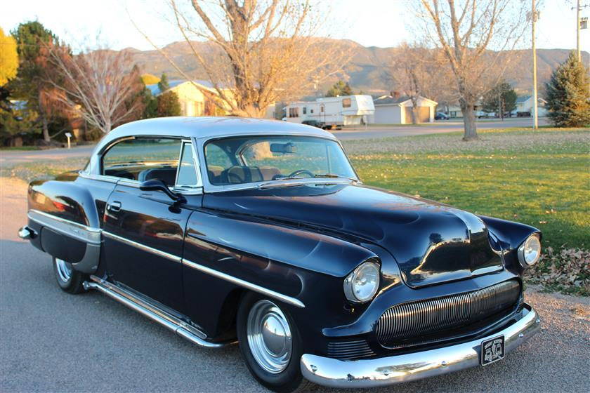 1953 Chevrolet Bel Air Sport Coupe $31,900