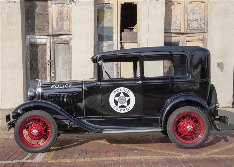 1930 Ford Model B Police Squad Car $18,500 neg