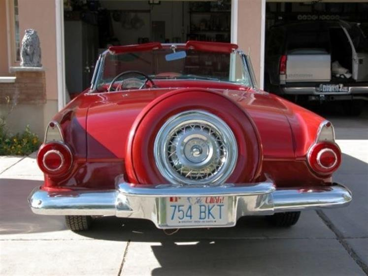 1956 Ford T-bird Convertible Deluxe w Continental