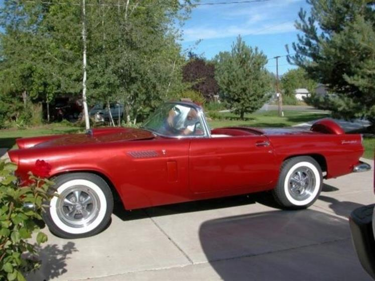 1956 Ford T-bird Convertible Deluxe w Continental ,Ford