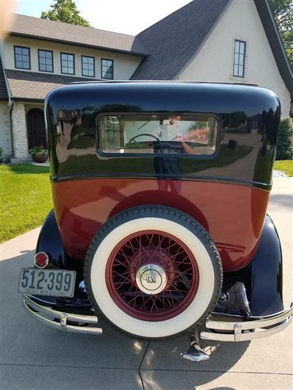 1931 DeSoto 4 door Sedan