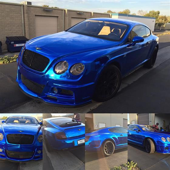 Bentley Wrap and Tint