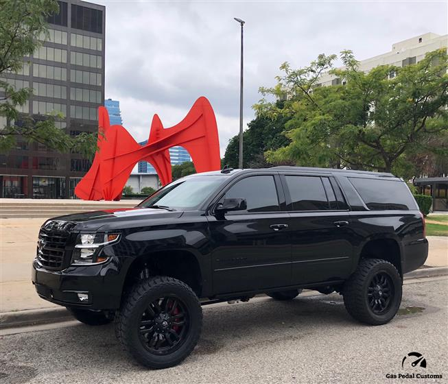 2018 Chevy Suburban with 6.6L Duramax LML