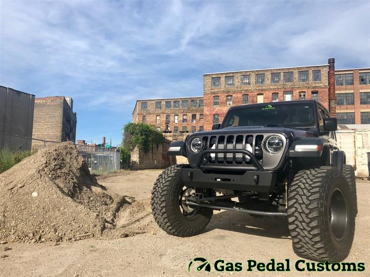 Turbocharged Jeep JL on 40s
