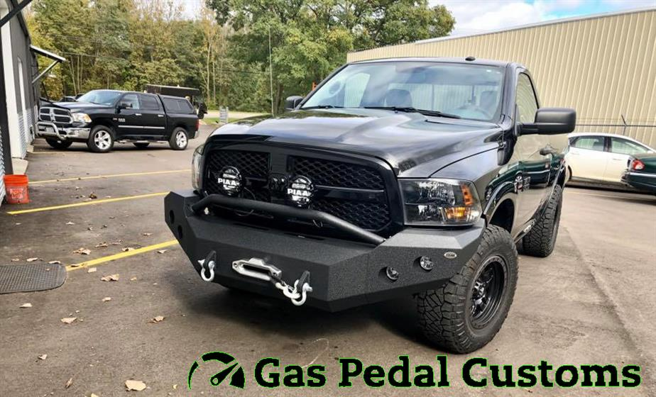 RAM 1500 with DV8 bumpers
