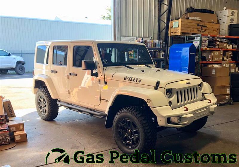 Jeep with Rock Krawler 2.5