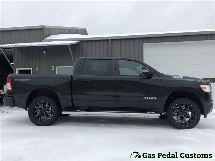 2020 RAM 1500 with 22 inch wheels