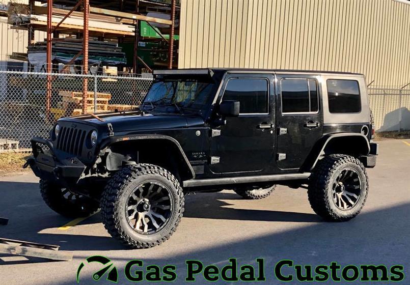 Jeep Wrangler with Yukon gears,Jeep