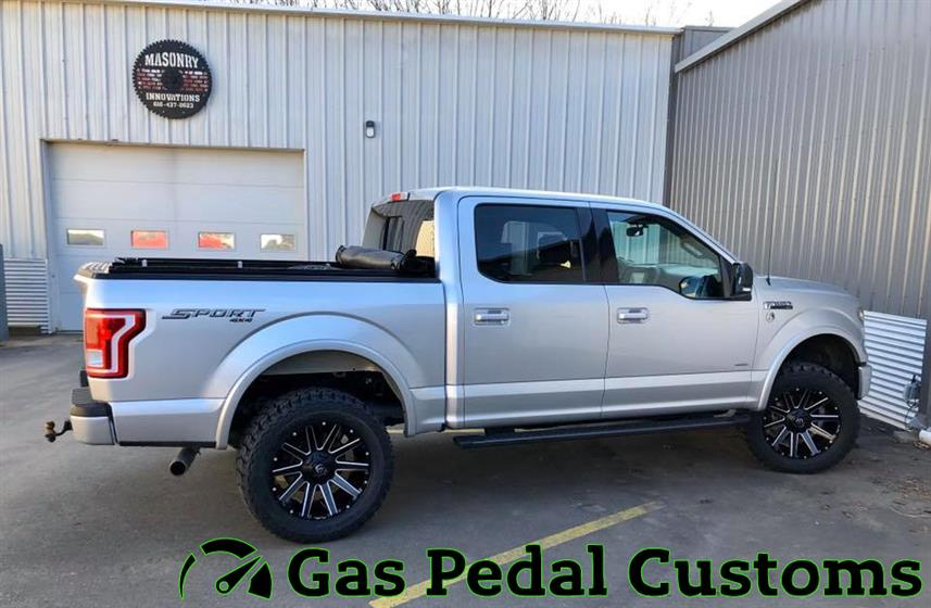 Ford F-150 with ReadyLift suspension,Ford