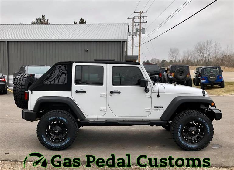 Jeep Wrangler with 3