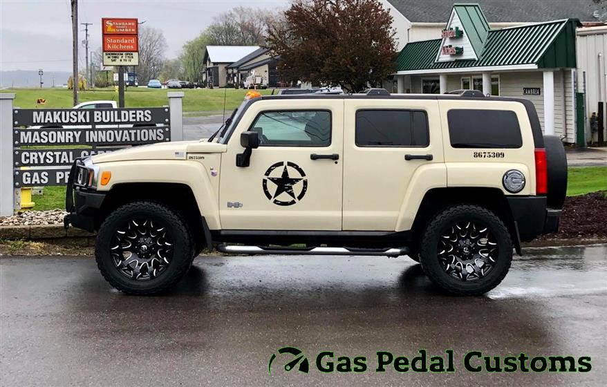 Hummer H3 with Fuel Wheels,Hummer