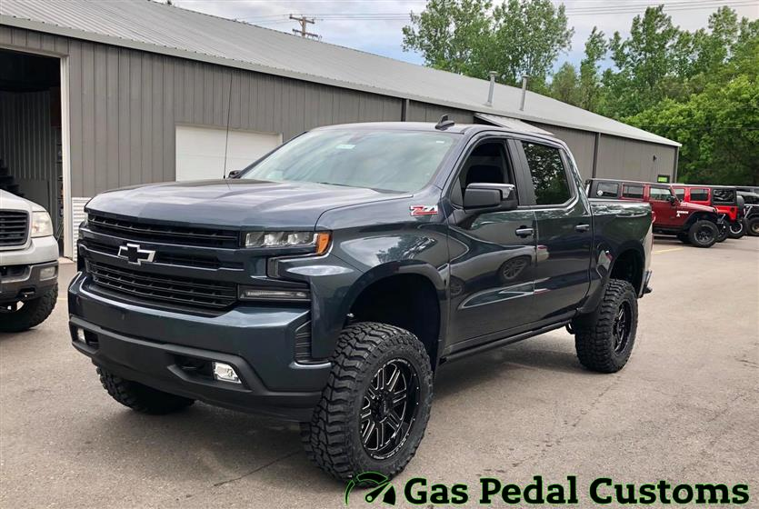 2020 Chevy Silverado with ReadyLIFT suspension