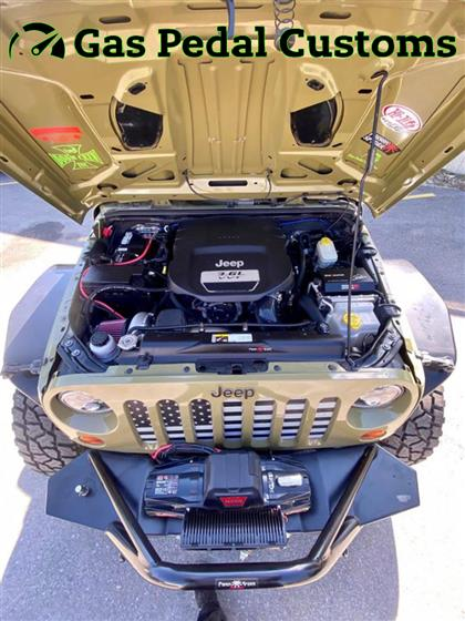 Turbocharged Jeep Wrangler