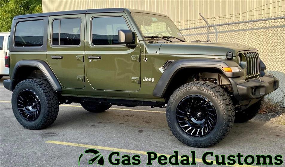 Sarge Green Jeep Wrangler JL
