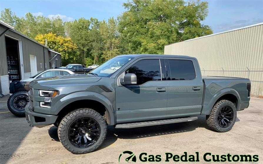 Ford F-150 with 22