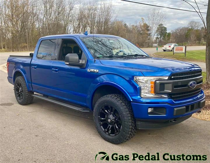 Ford F-150 with Fuel Wheels,Ford