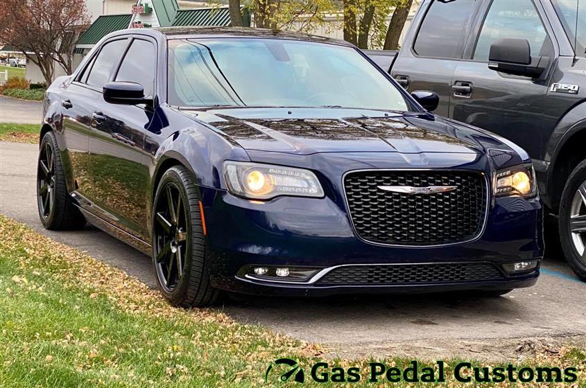 Chrysler 300 with Eibach suspension,Chrysler