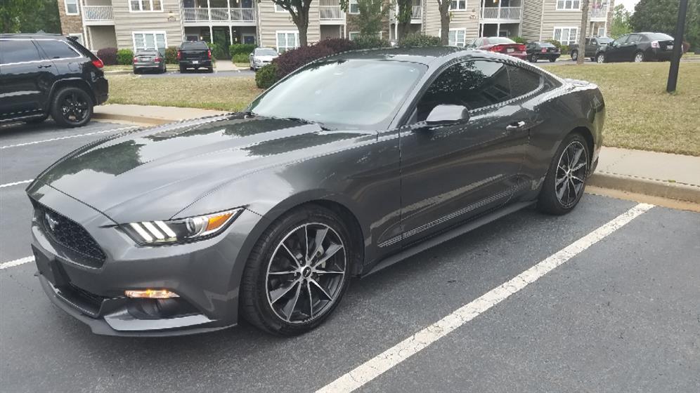 2016 Mustang Ecoboost Premium