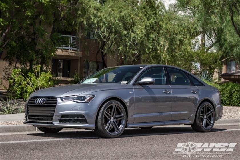 2016 Audi A6 with 22
