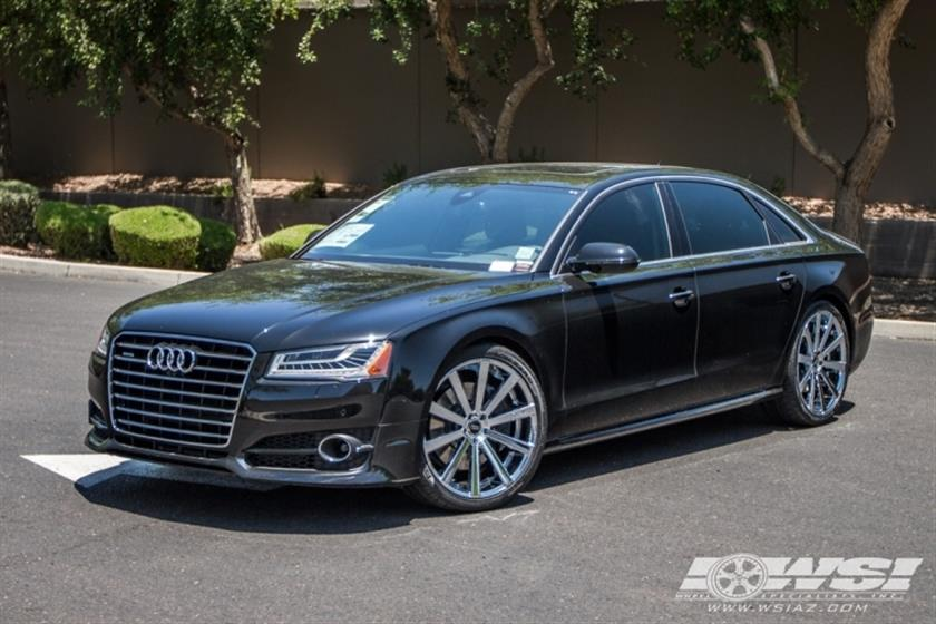 2016 Audi A8 with 22
