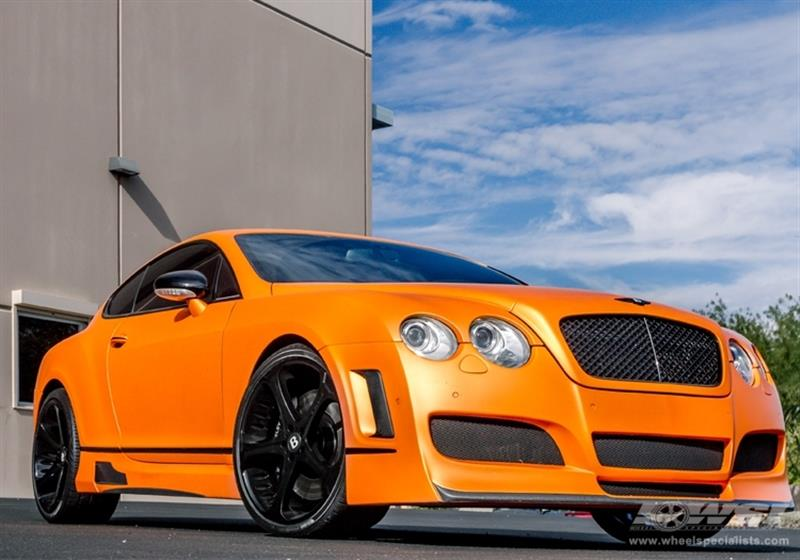 2012 Bentley Continental with 22