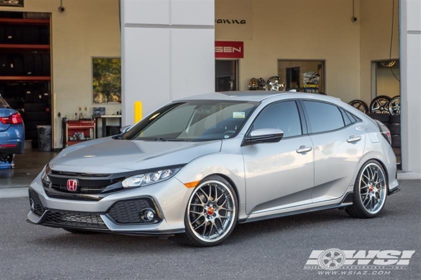 2017 Honda Civic with 20