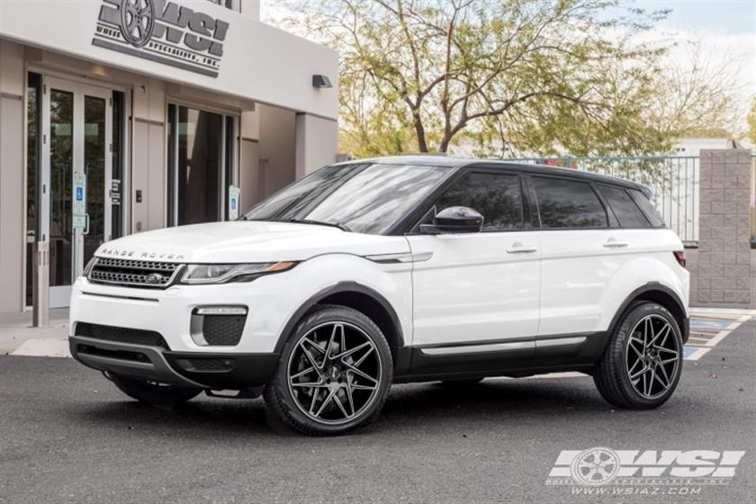 2017 Land Rover Evoque with 20