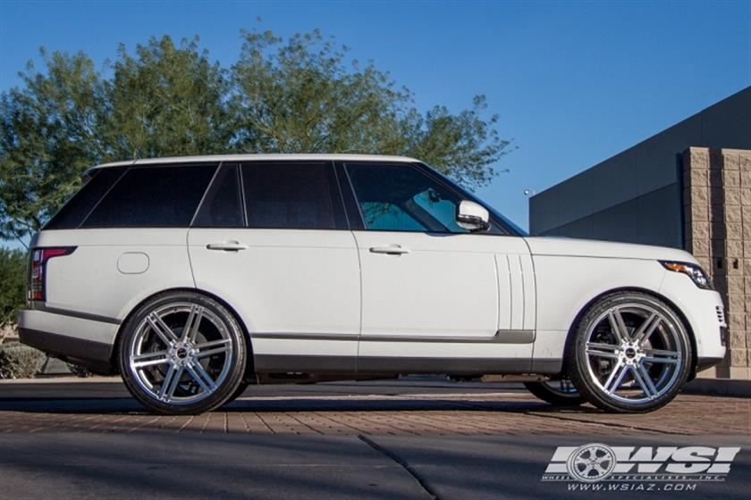 2016 Land Rover Range Rover with Gianelle Wheels