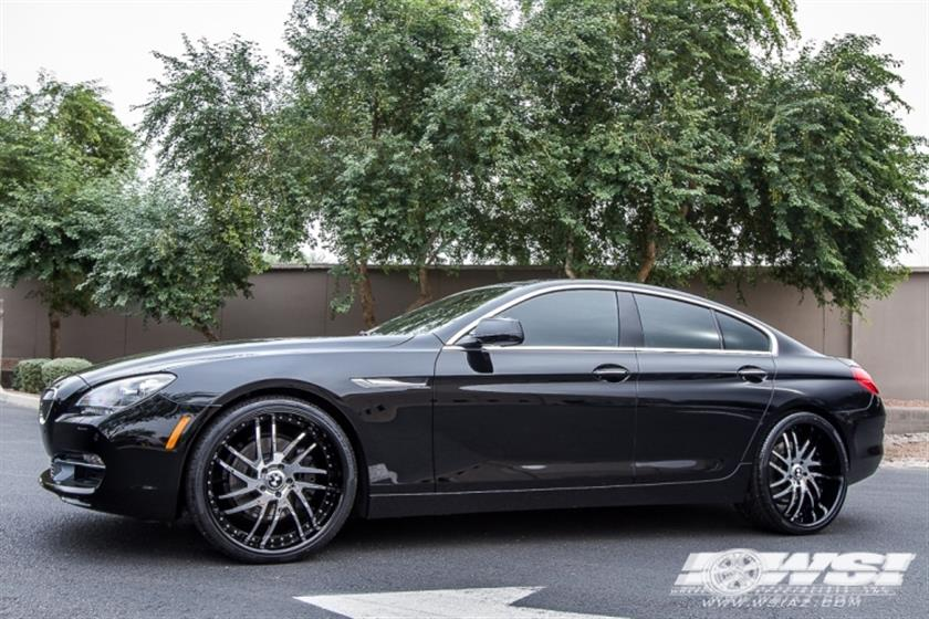 2015 BMW 6-Series with 22